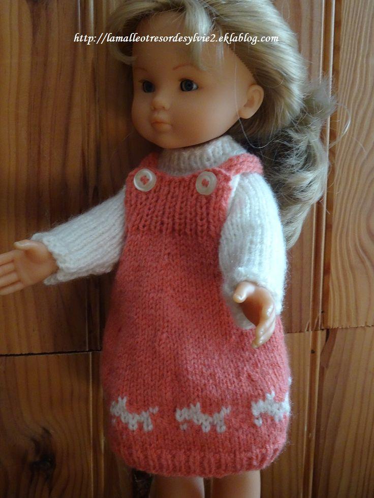Fiche gratuite vêtement de poupée N° 213: tenue pour les Chéries