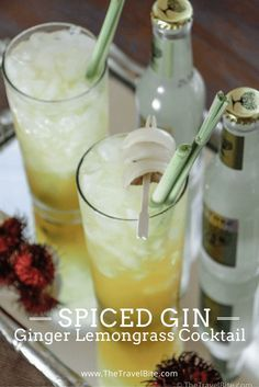 Opihr Spiced Gin Oriental Sun Rise Cocktail ~ http://thetravelbite.com