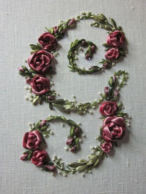 ElisabettaRicami.Blogspot.com, Elizabeth hand embroidery - G