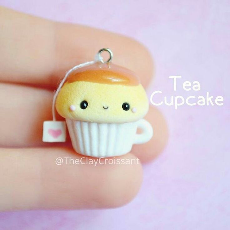 Tea cupcake Think ill try make this for my cousin