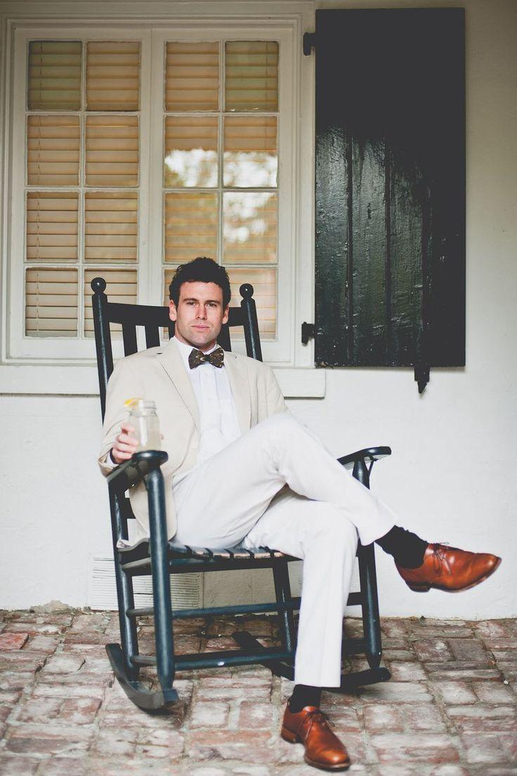 A proper southern gentleman.
