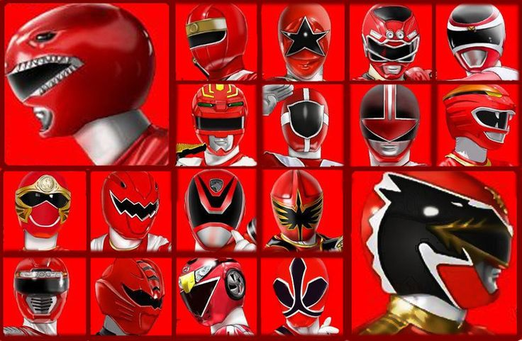 Red Power Rangers