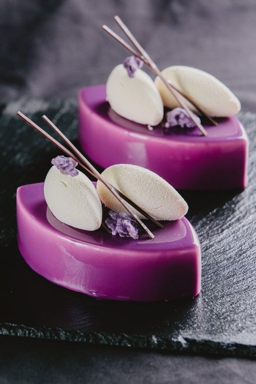 "Individual cake ""Violet"""