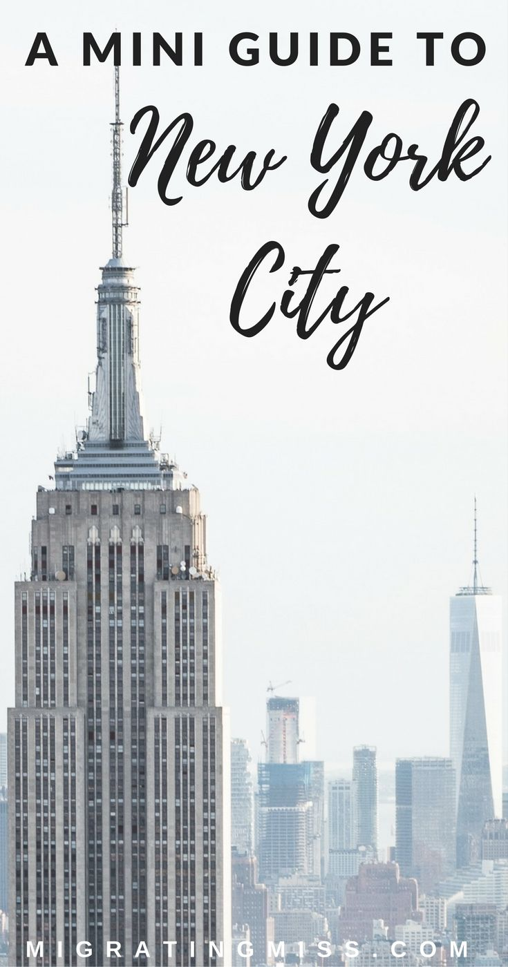 NYC Guide: A First-Timers Four Day Itinerary For New York City + Maps #newyork #NYC #newyorkcity #USA