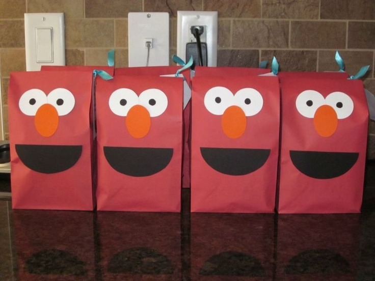 elmo party bags