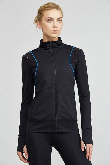 Stylish, modern, and ventilated, this fitted running style will have you looking as cool as you feel. Alala Frontrunner Fitted Jacket ($145)