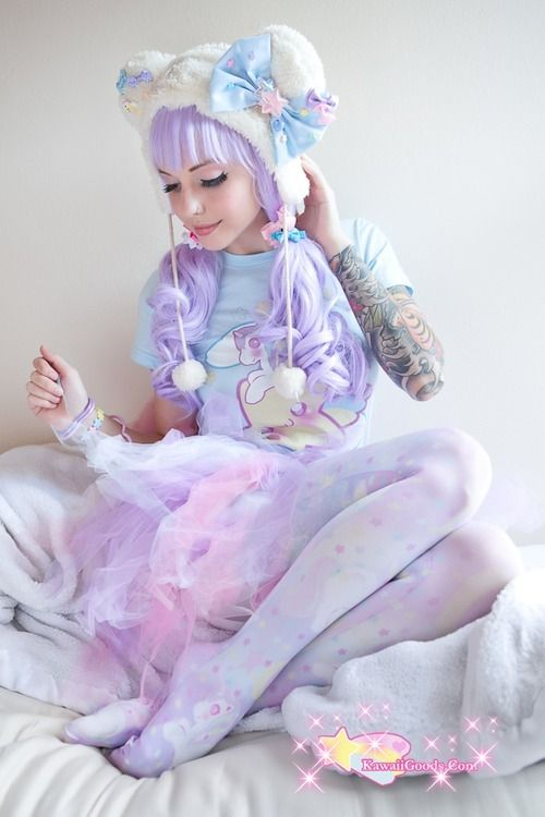 Tattoos are popular today but look a little off with the fashion of fairies. Fantastic inspiration for inked gals.
