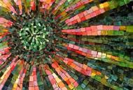 Gradient color is always impressive- by Mozaic Arts, Inc.