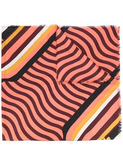 FENDI Hypnogarden print scarf. #fendi #scarf