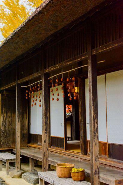 traditional Japanese farmhouse