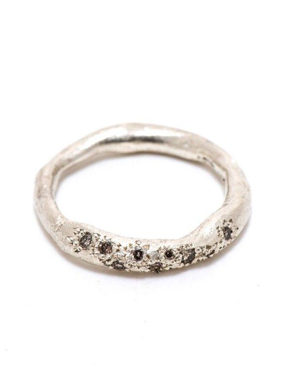 Bespoke Ring – Champagne Diamonds