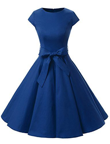 Dressystar DS1956 Women Vintage 1950s Retro Rockabilly Pr… www.amazon.com/…