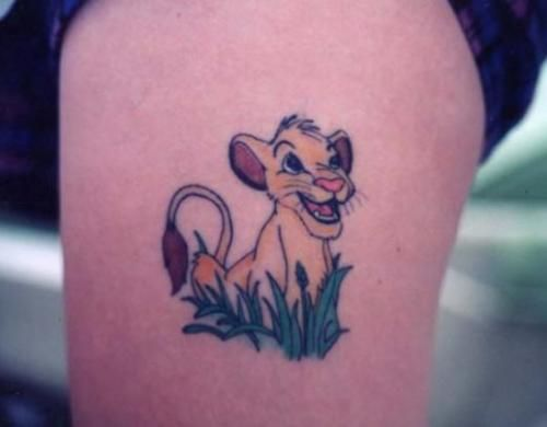 The Lion King Tattoo Pictures Designs And Samples View Thousands Of Photo By Professional Artists Around World