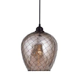 kenroy home nillo 9in w oil rubbed bronze hardwired standard mini pendant light with