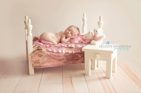Kayleigh Bed Set Photography Prop Newborn bed by Charlottecraft7, $145.00