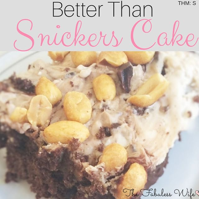 Are you in the mood for a decadent dessert? This chocolate cake is soaked with hot fudge sauce and condensed milk. Topped with a caramel whipped cream, this cake is reminiscent of a Snickers bar, only better!