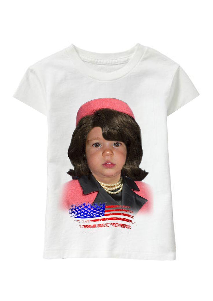 Jackie O personalized T-shirt www.ghigostyle.com
