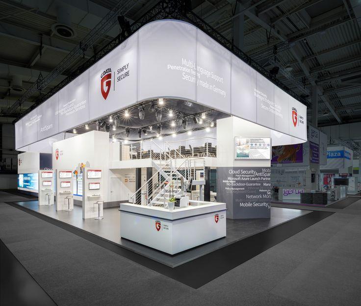 G Data Software AG Referenzbeispiel zur Cebit, Hannover 266m² Doppelstock