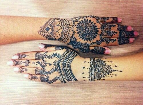 Mehndi Wolf Tattoo : Best henna images tattoos tattoo ideas