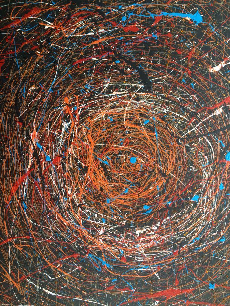 Swirl painting.
