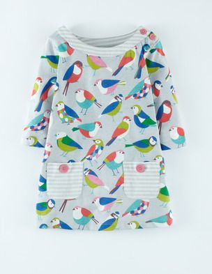 Jersey Printed Tunic 31802 Tops at Boden