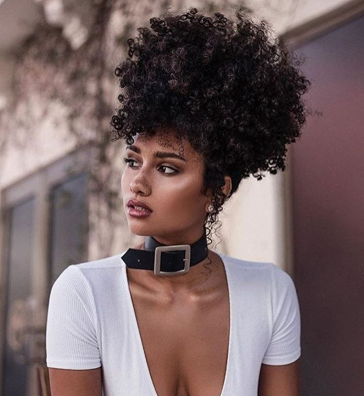 Curly Hairstyles For Black Women Interesting 2658 Best I Have Natural Hair Images On Pinterest  Black Girls
