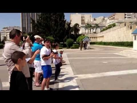 Syntagma Square - Tomb of the Unknown Soldier.