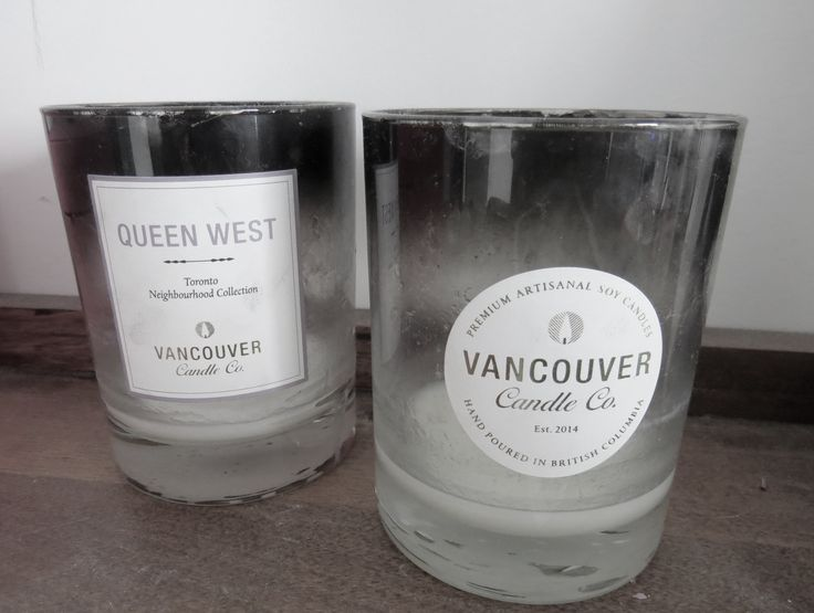 Vancouver Company Candles. Signifies my move from Vancouver to Toronto.