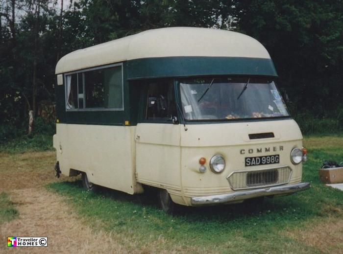 1969 Commer PB Bluebird Highwayman