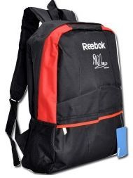 Reebok Red Single Strap Black Backpack Bag (Free shipping in India)