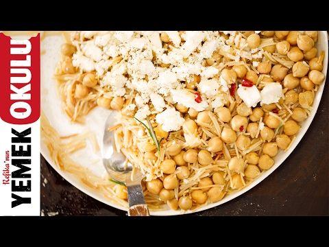Nohutlu Tel Şehriye   5 Dakikalık Yemekler - YouTube