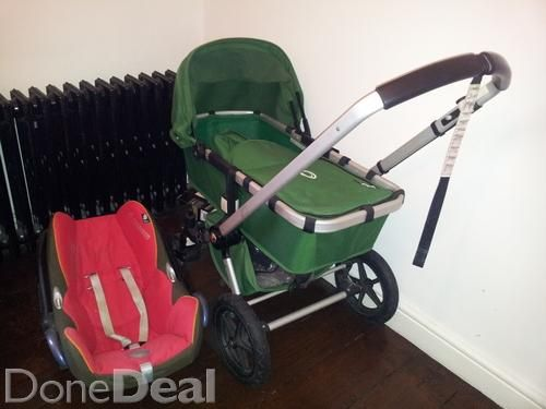 Bugaboo buggy, pram and car seatin mint