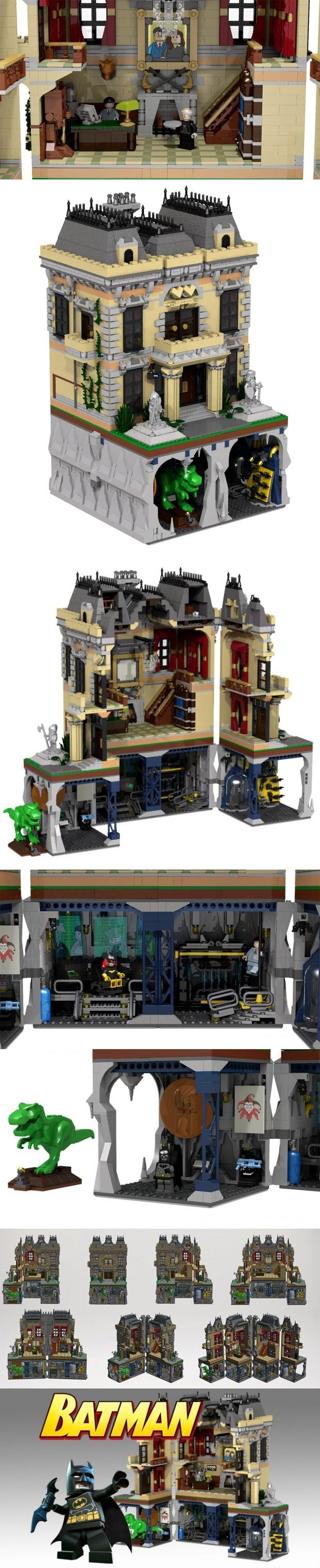 Batman Assault on Wayne Manor LEGO