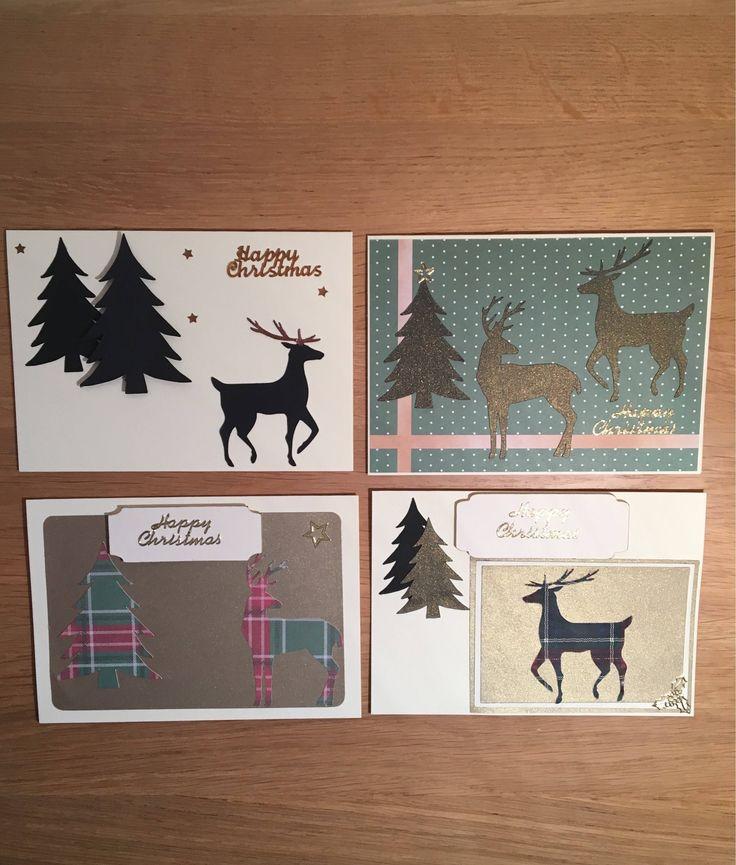#handmadechristmascards #bargainchristmascards #christmascardpack #cardswithdeer #uniquexmascards