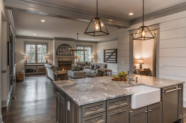 Tudor style inspired dwelling with reclaimed barn wood in for Style kitchen nashville