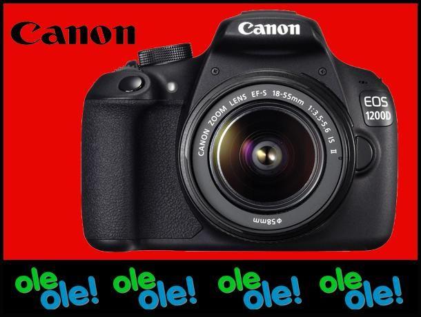 Lustrzanka Canon EOS 1200D  18-55 mm DCIII ZESTAW