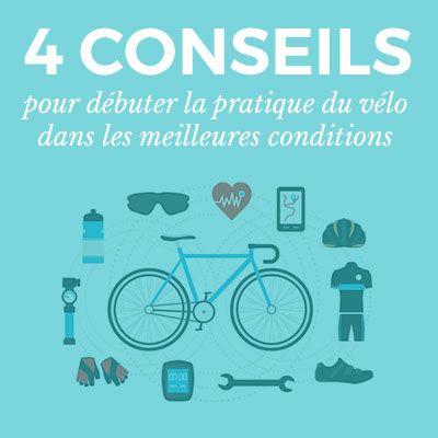 Débuter la pratique du vélo dans les meilleures conditions avec ces quelques conseils qui éviteront de se sentir dépassé(e) ou découragé(e) dès le départ.