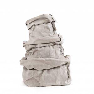 Uashmama Paperipussi Grey  Uashmama paperipussit eri koossa ja väreissä www.valkoinenlautturi.fi. Postikulut vain 2,00 euroa!