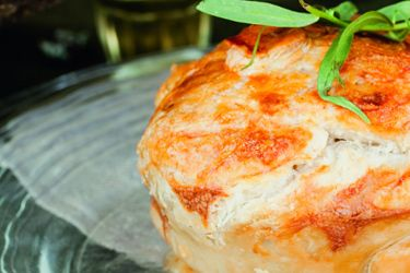 Chicken and tarragon pies