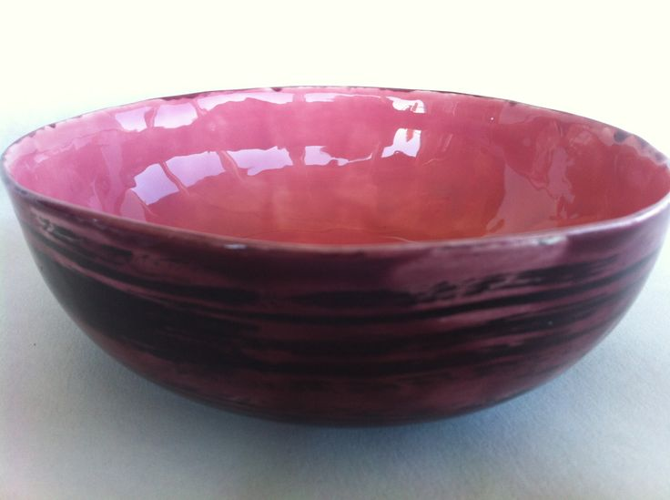 This rice/bowl is certaqinly not just fro rice. Amazing gorgeous colors of Plum-Swirl outside with deep pink inside. Try your morning yogurt and fruit. You will look forward to breakfast all day long. Love it! fun and interesting gift.