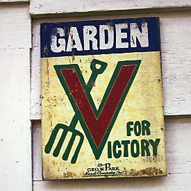 Buy Garden for V...V For Victory Sign