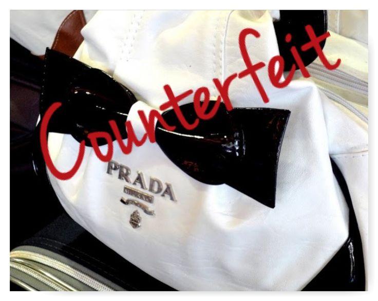 counterfeit prada