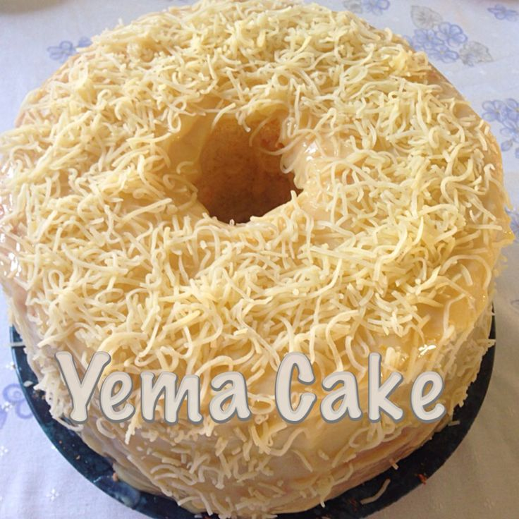 How To Make Yema Cake Filling