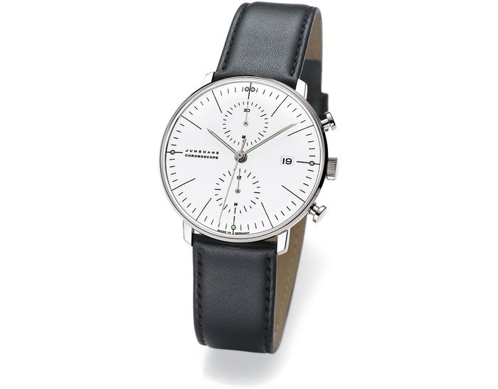 max bill chronoscope watch, one of my all time favs.