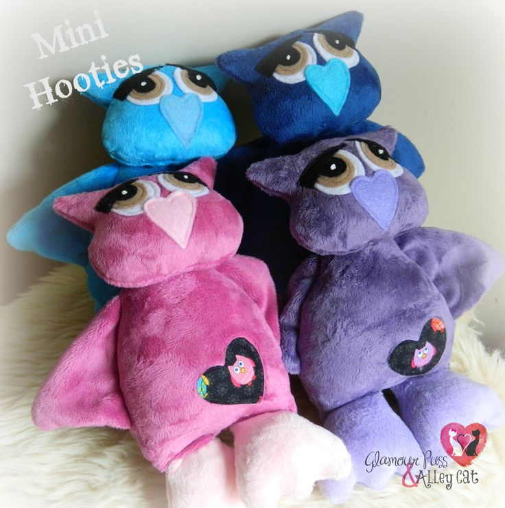 Mini Hooties ~ Now available thru FB page :)