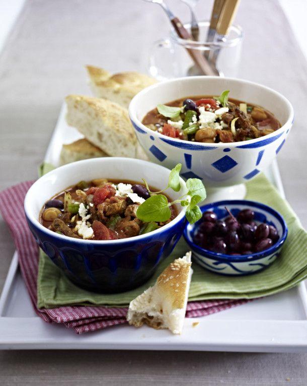 Unser beliebtes Rezept für Gyros-Tomaten-Suppe und mehr als 55.000 weitere kostenlose Rezepte auf LECKER.de.