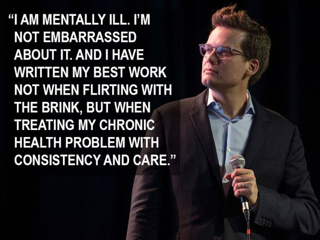 John Green spoke about mental illness and creativity at NerdCon. | 17 Celebrities Who Opened Up About Mental Health In 2016