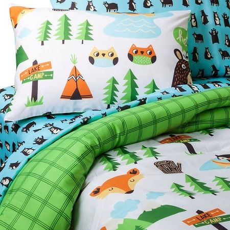 Circo® Forever Forest Campfire Friends Comforter Set