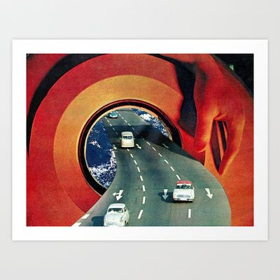 where are we going? Art Print by Hugo Barros - $19.00
