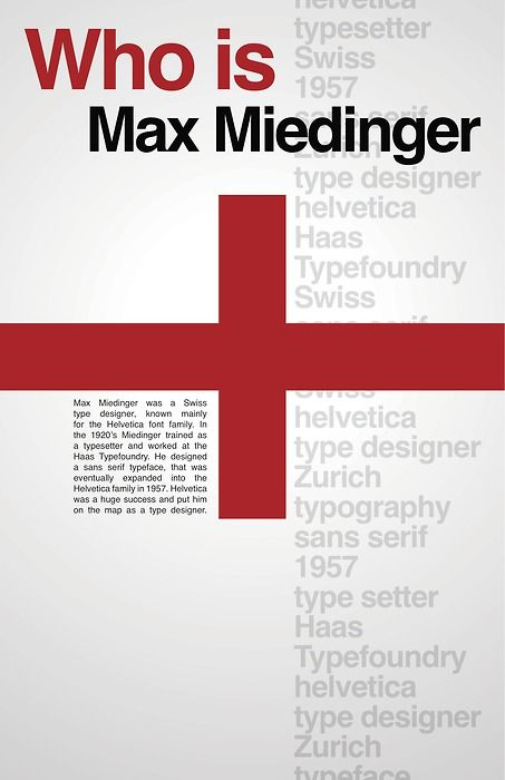 6f66913ca Pin by Jaylinette Alicante on Helvetica | Typographic poster, Max  miedinger, Swiss style